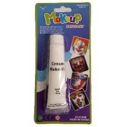 White face paint tube