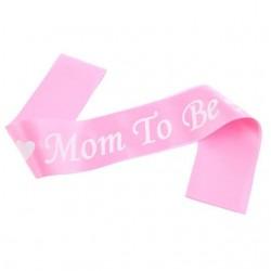 Mom to Be Sash- Pink