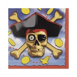 Pirate Bounty Serviettes (pack of 16)