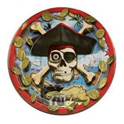 Pirate Bounty Lunch Plates (pack of 8)