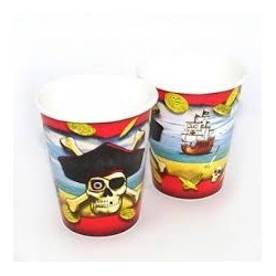 Pirate Bounty cups (pack of 8)