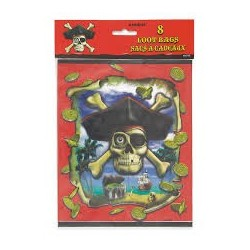 Pirate Bounty Lootbags (pack of 6)