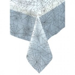 Halloween Spiderweb Tablecloth  Halloween party supplies South Africa