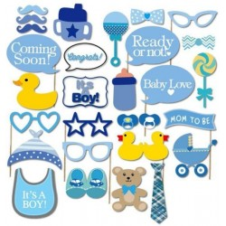 Its a Boy Photo Props (20 pcs)