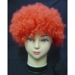 Wig Afro Child Red