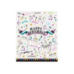 Doodle themed party bags | Party Supplies South Africa