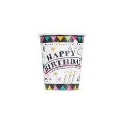 Doodle themed party cups | Party supplies South Africa