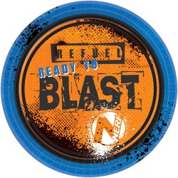 Nerf Paper Plates (pack of 8)