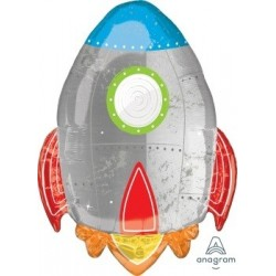 Blast Off Supershape Foil Balloon