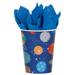 Blast Off Paper Cups (pack of 8)