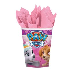 Pink Paw Patrol Cups (pack of 8)