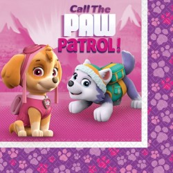 Pink Paw Patrol Serviettes (pack of 20)