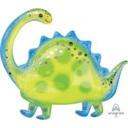 Stegosaurus SuperShape Foil Balloon