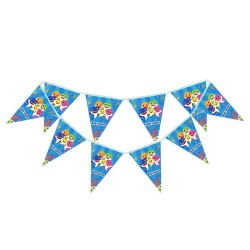 Baby Shark flag banner| Baby shark party supplies South Africa