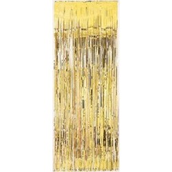 Gold Curtain Backdrop (1 X 2m )