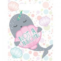 Narwhal party bags