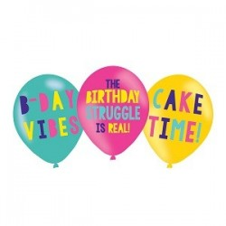 My Birthday Party Balloons