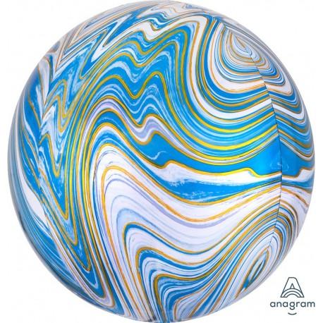 ORB: Blue Marble Foil Balloon