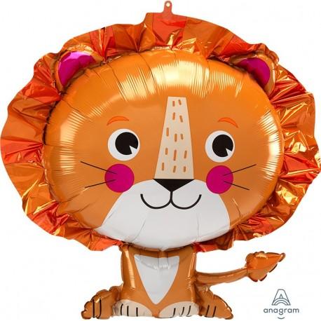 Lion Supershape Foil Balloon