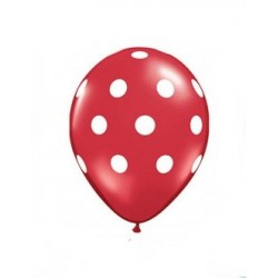 Red Polka Dot Balloons