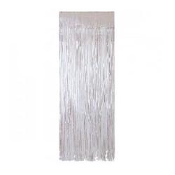 Silver Curtain Backdrop (1 X 2m )