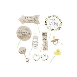 Botanical Baby - Photo Booth Props