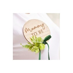 Botanical Baby - Mummy to be Badge