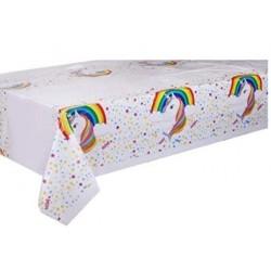 Rainbow Unicorn tablecloth