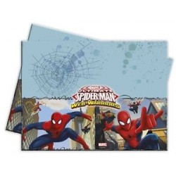 Spiderman plastic tablecloth
