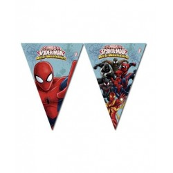 Spiderman Team Up flag banner