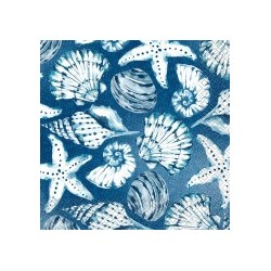 Blue Reef Serviettes (pack of 16)