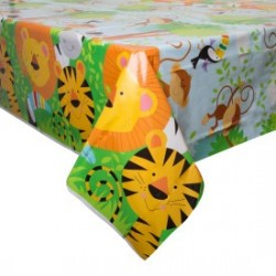 Wildlife Jungle Animals tablecloth