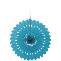 Turquoise Decorative Fan