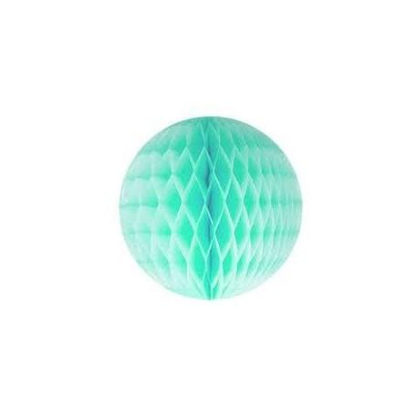 Mint Green Honeycomb Ball