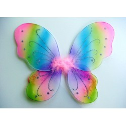 Rainbow Butterfly Wings - Small