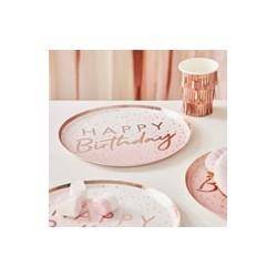 Mix It Up - Ombre paper plates (pk/8)