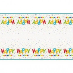 Happy Balloon Birthday tablecloth | Party Supplies South Africa