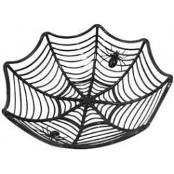 Black spiderweb candy bowl