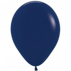 Navy Blue Balloon 12 inch - Inflation avaialble in store. My Party Supplies Broadacres