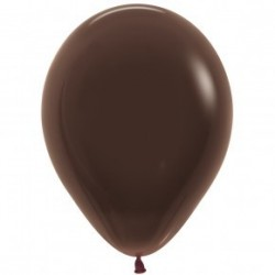 Chocolate Brown Balloon - Inflation available in store. My Party Supplies Broadacres