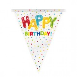 Happy Balloon Birthday Flag Bunting Party Supplies South Africa