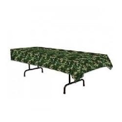 Military Camo Plastic tablecloth