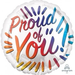 """18"""" Proud of You Foil Balloon"""