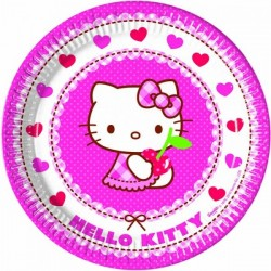Hello Kitty Paper Plates (pack of 8)
