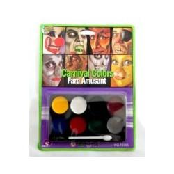 8 Colour Face Paint Kit