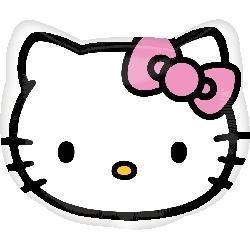 Hello Kitty Foil Balloon