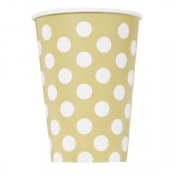 Gold Dots cups