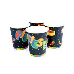Mexican themed paper cups