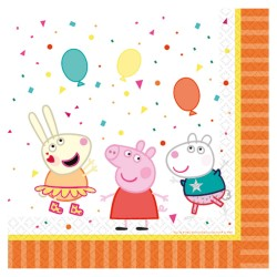 Peppa Pig Lunch Serviettes (pack of 20)
