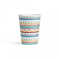 Tepee and Tomahawk western paper cups| Western Party Supplies